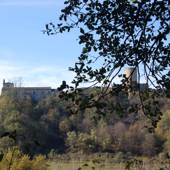 Le château vu du chemin