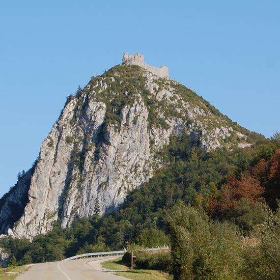 Le château de Montségur