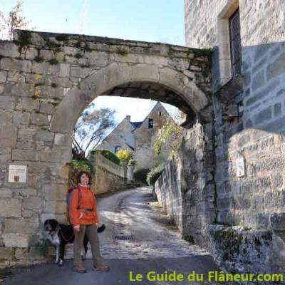 Porte d'entrée de Saint-Robert