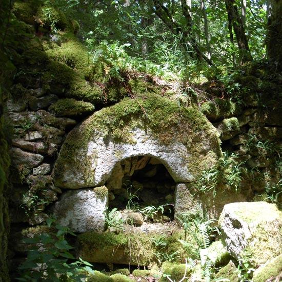 Les ruines de Sicardens