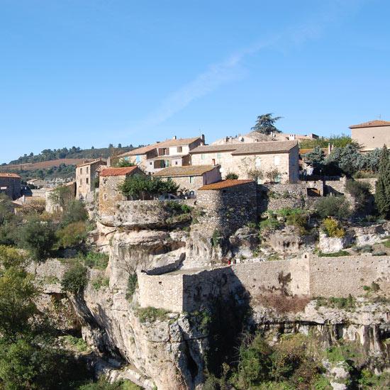 Les remparts de Minerve