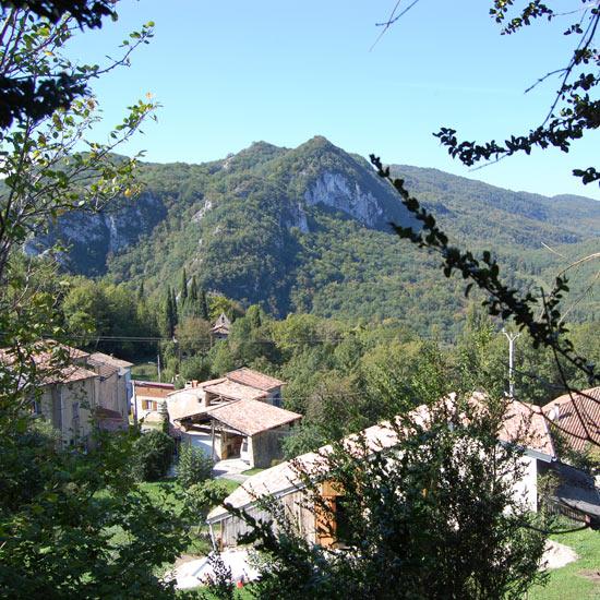 Le village de Péreille-Bas