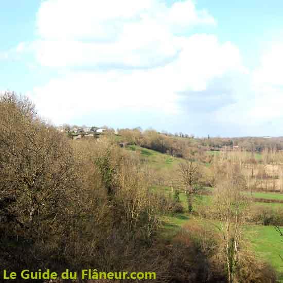 Les paysages du côté d'Ardin