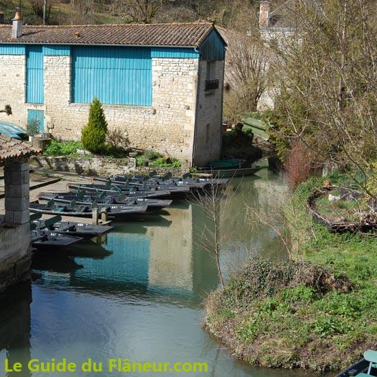 Le port de La Garette