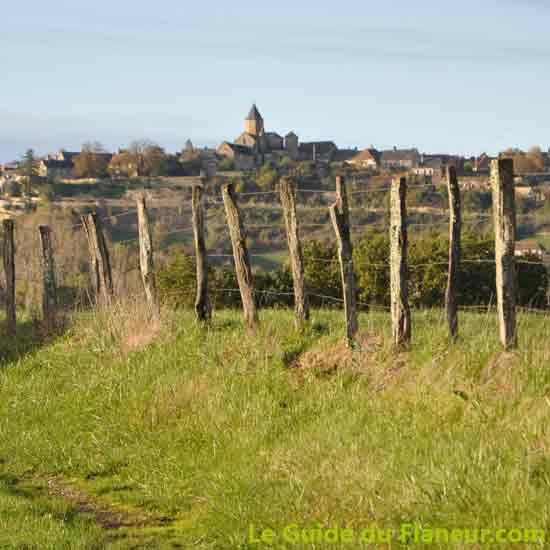Le village de Saint-Robert