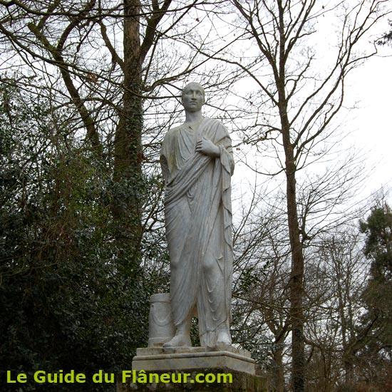 Une statue de la Garenne Lemot
