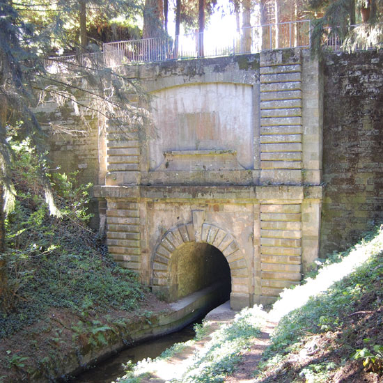 Image de la voûte-tunnel