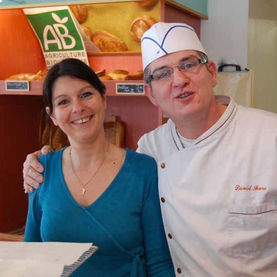 Angélique et David les boulangers