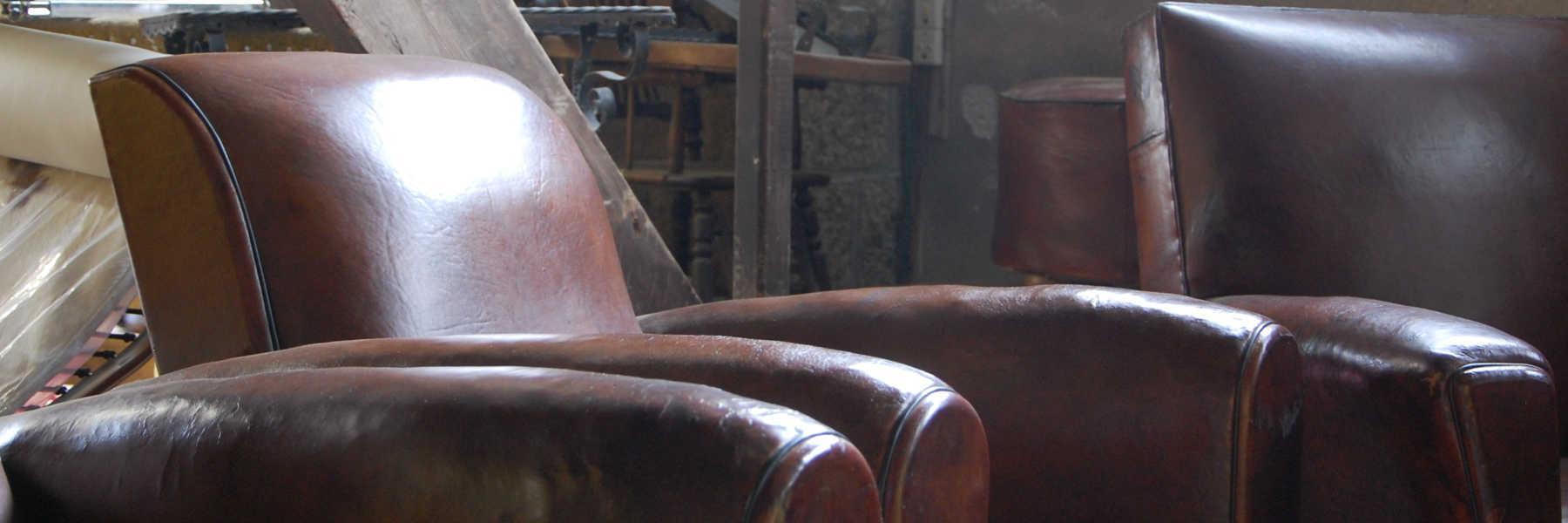 Artisan de l'atelier du cuir à Callac