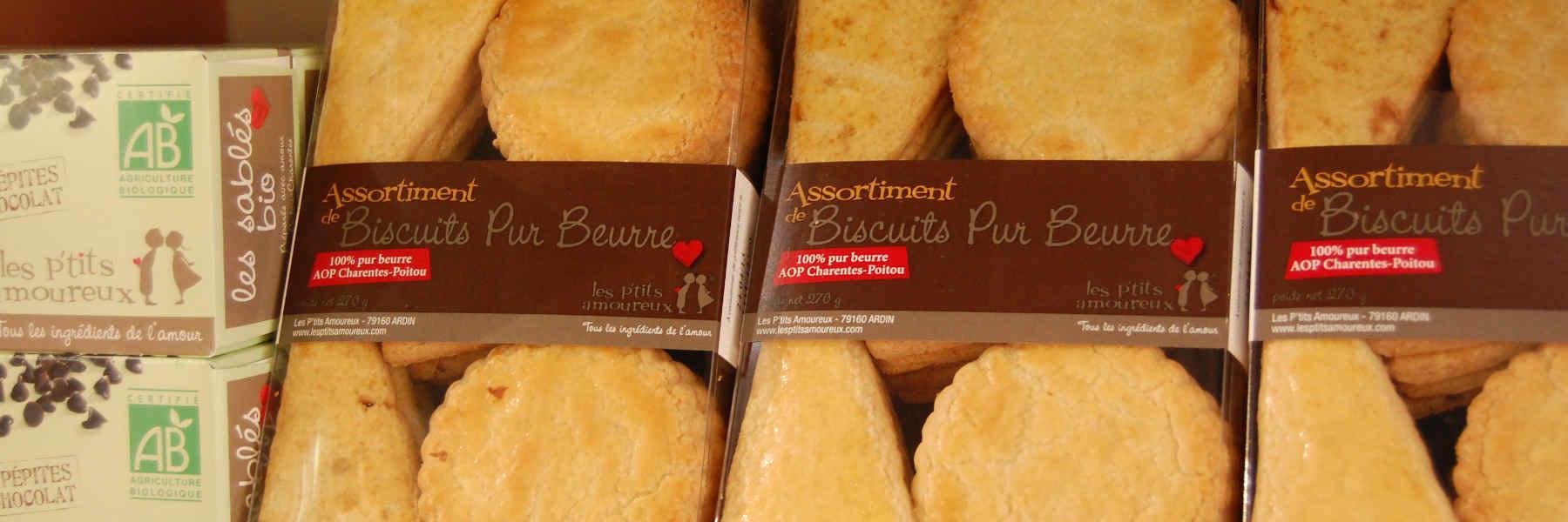 Artisan la biscuiterie les p'tits amoureux