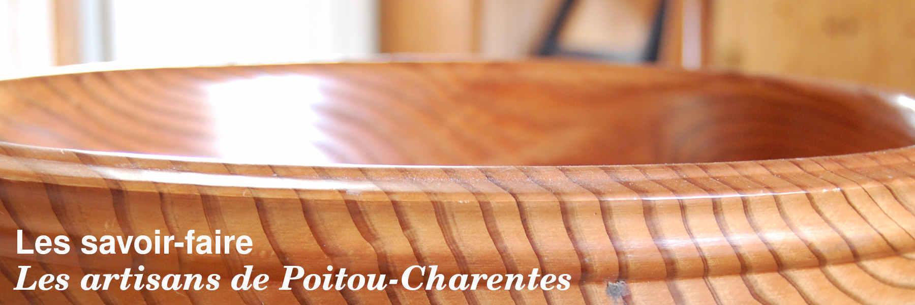 Les artisans Poitou-Charentes