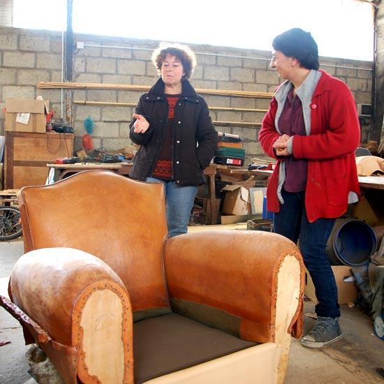 Atelier du cuir à Callac