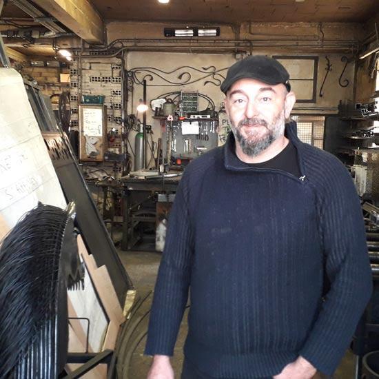 Atelier de ferronnerie de Pierre Sabaté