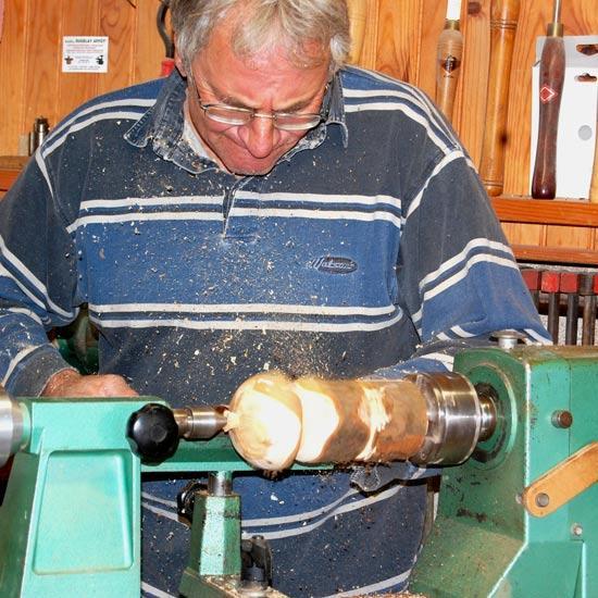 Bernard Termenière tourneur sur bois