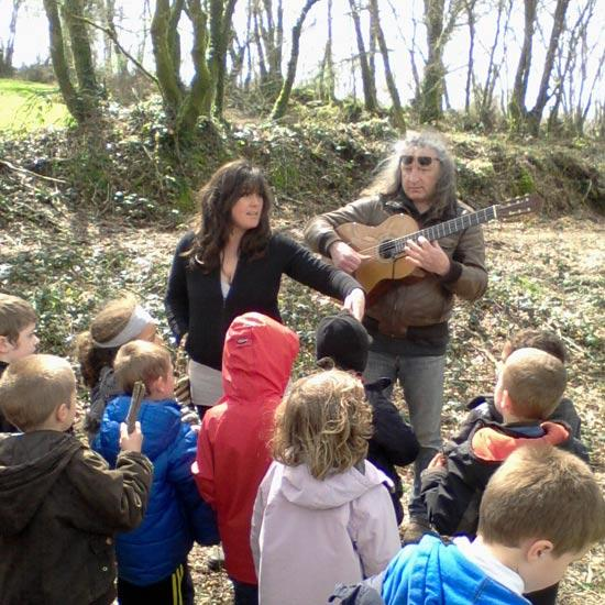 Chants et contes bretons