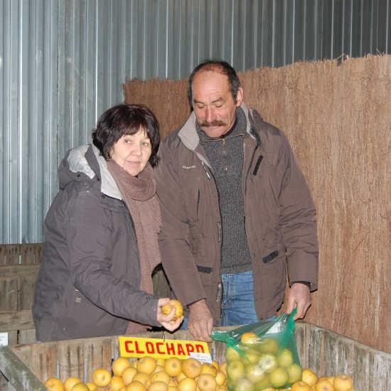 Colette et Alain à Béceleuf