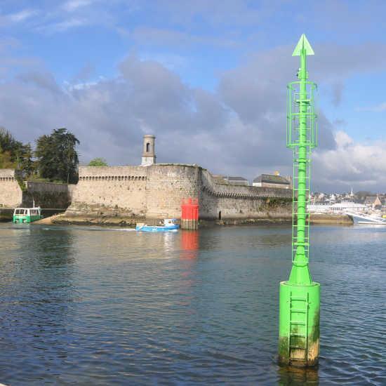 Concarneau dans le Finistère