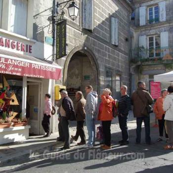 Cornuelles d'une boulangerie de Villebois