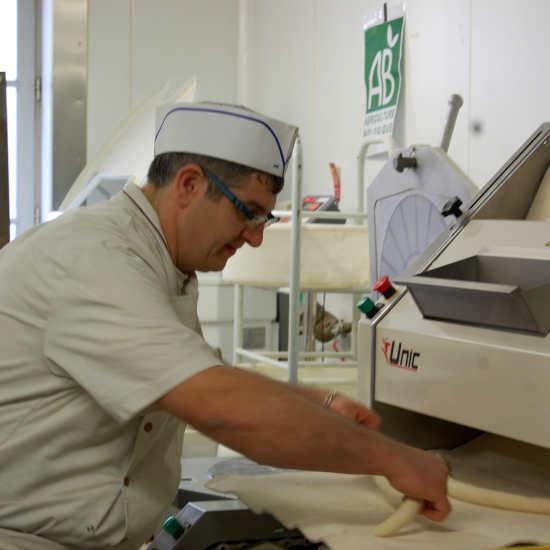 David à la confection du pain
