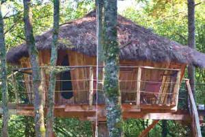 Dormir cabanes pyrene cazarilh 2