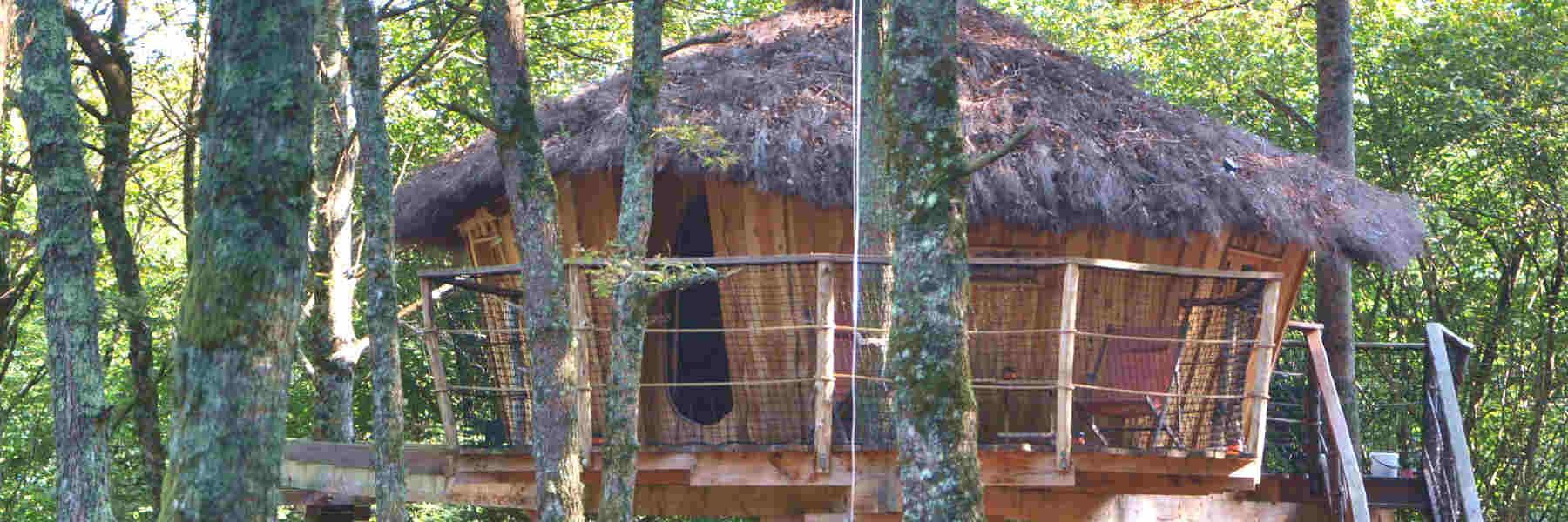 Dormir aux Cabanes de Pyrène à Cazarilh