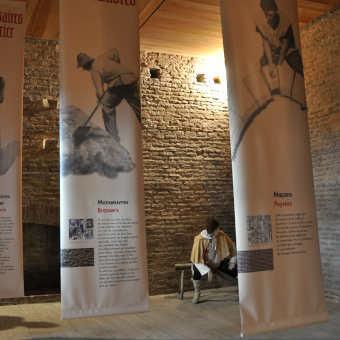 Expositions dans la salle du château