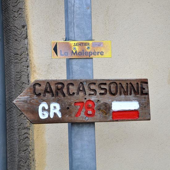GR 78 vers Carcassonne