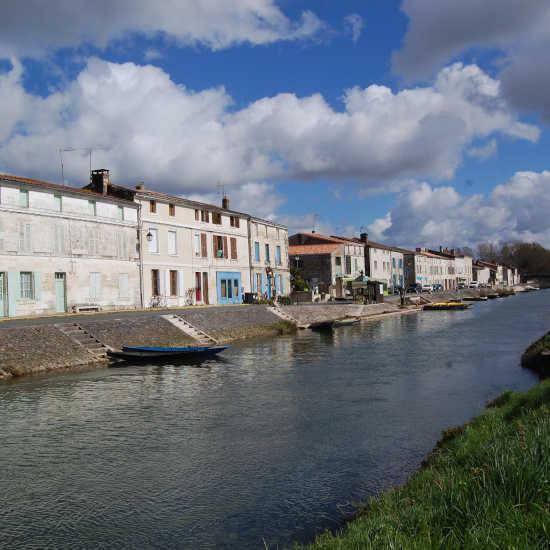 Le grand canal de Coulon