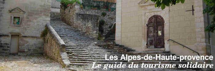 Le guide du tourisme solidaire des Alpes-de-Haute-Provence