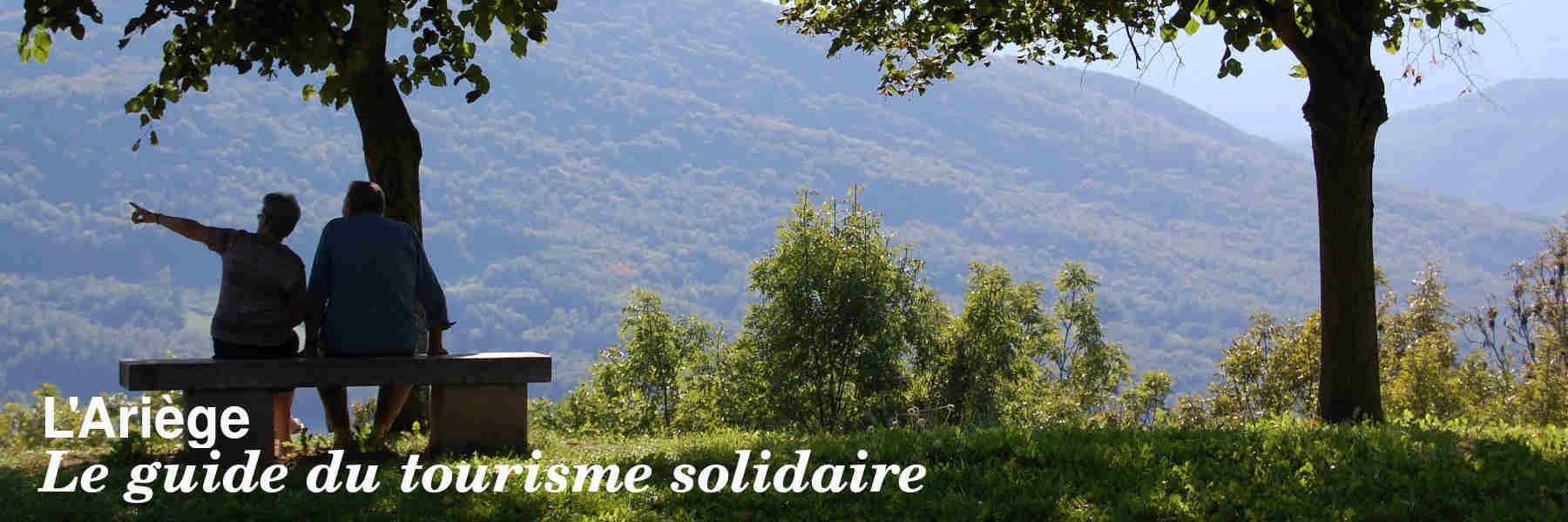 Le guide du tourisme solidaire de l'Ariège