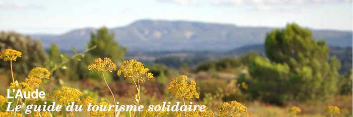 Le guide du tourisme solidaire de l'Aude
