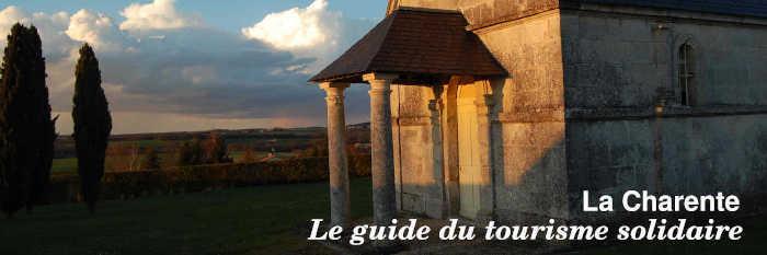 Le guide du tourisme solidaire de la Charente
