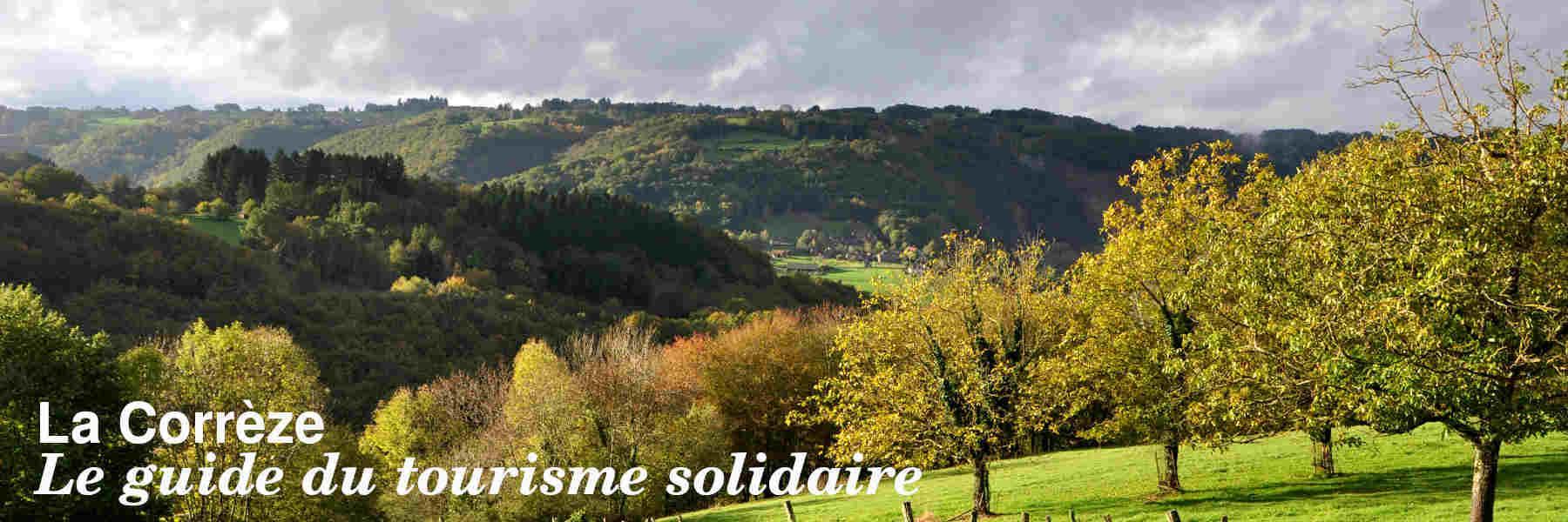 Le guide du tourisme solidaire en Corrèze
