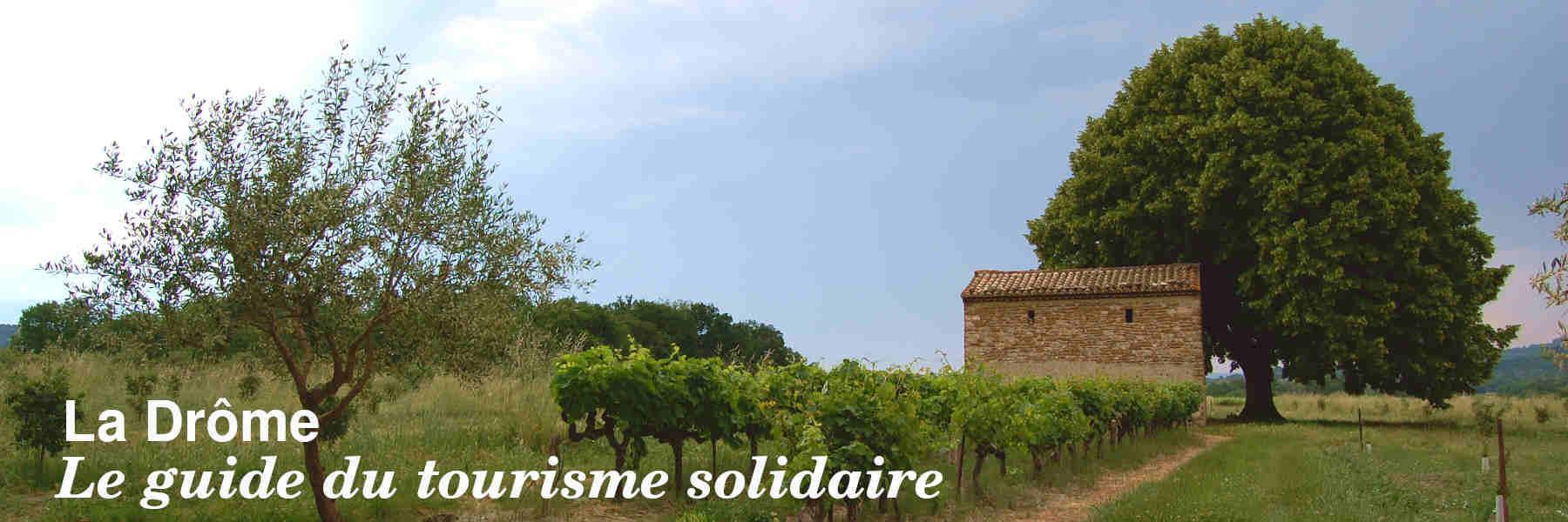 Le guide du tourisme solidaire de la Drôme