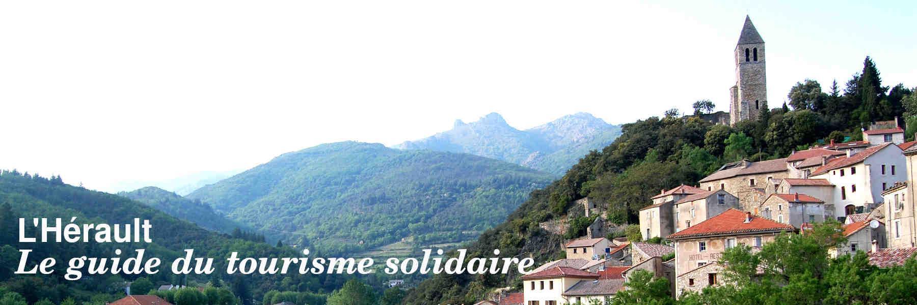 Le guide du tourisme solidaire de l'Hérault