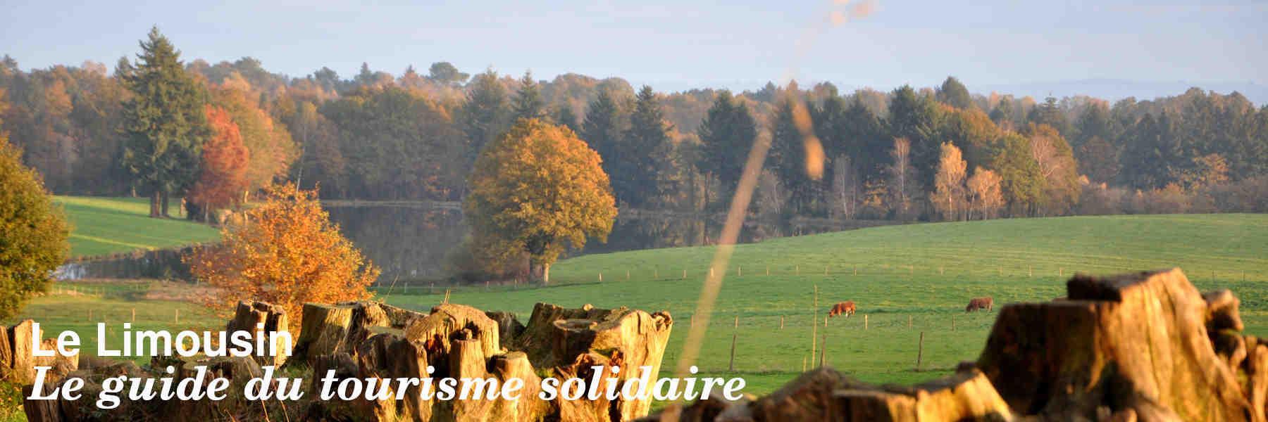 Le guide du tourisme solidaire en Limousin