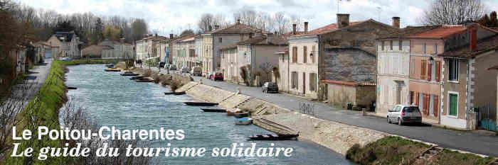 Le guide du tourisme solidaire en Poitou-Charentes