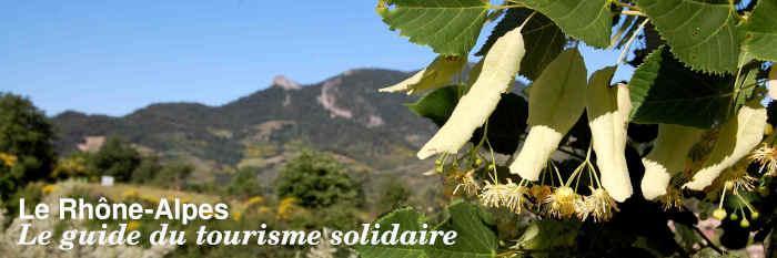 Le guide du tourisme solidaire Rhône-Alpes