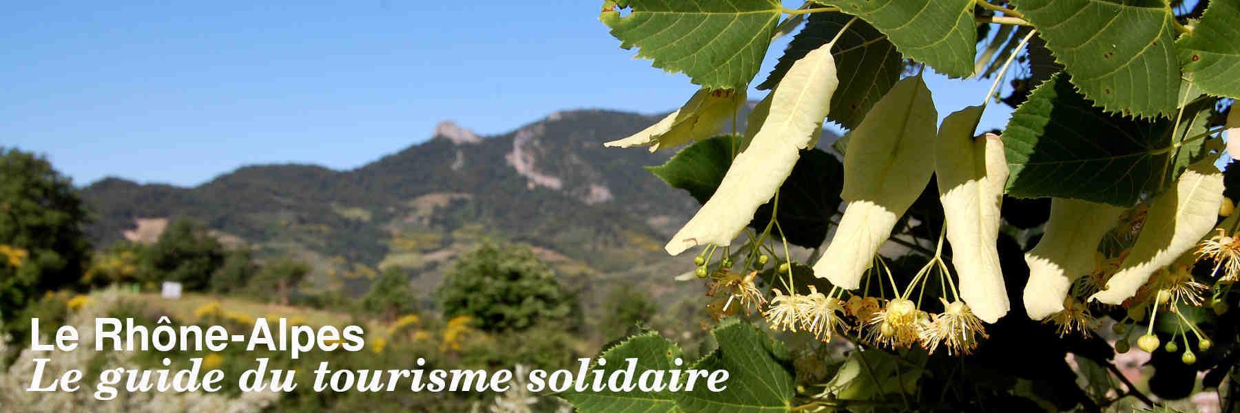 Le guide du tourisme solidaire en Rhône-Alpes