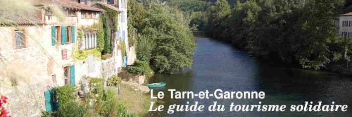 Le guide du tourisme solidaire en Tarn-et-Garonne
