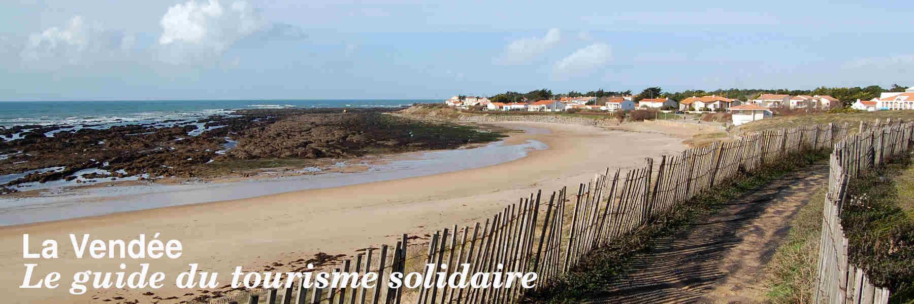 Le guide du tourisme solidaire en Vendée