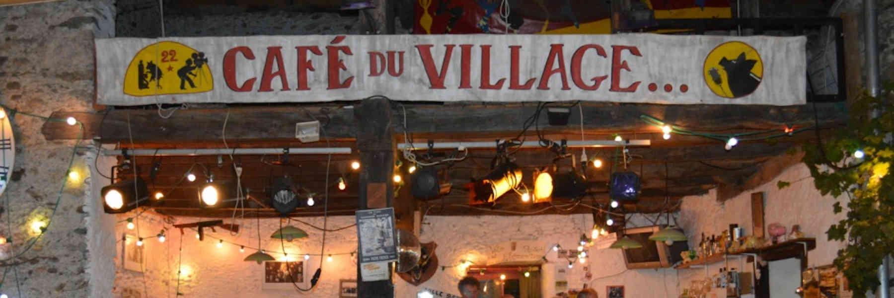 L'initiative du café du village d'Anères