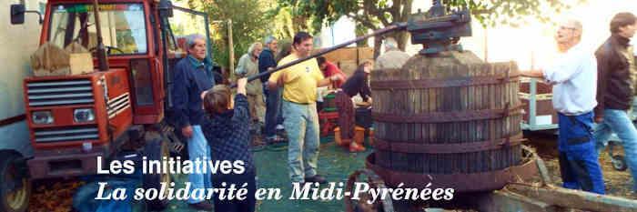Les initiatives en Midi-Pyrénées