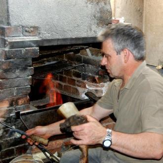 José Da Fonseca travail de la corne