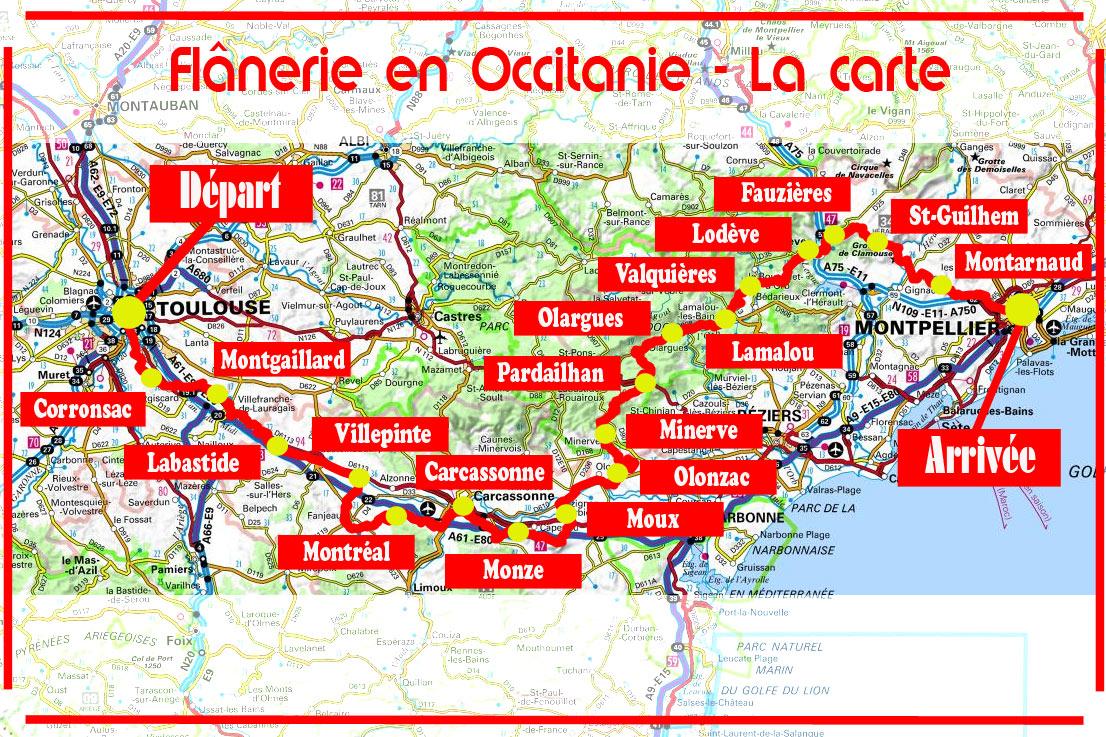 Flânerie en Occitanie