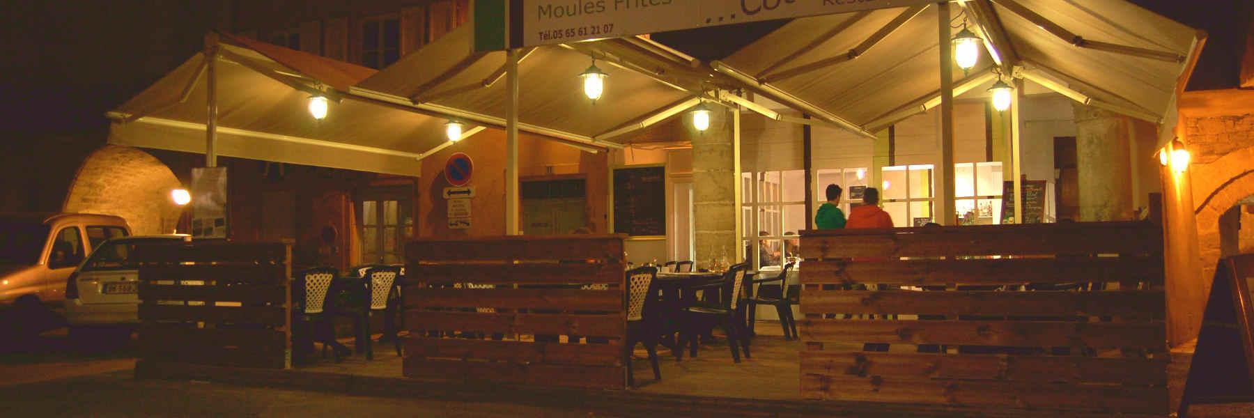 Manger au restaurant Côté Marché à Millau