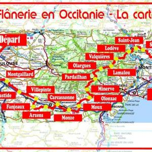 Marche toulouse montpellier flanerie occitanie