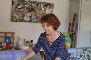 Mona badie artisan peintre collagiste 2