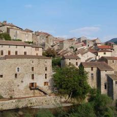 Le village d'Olargues