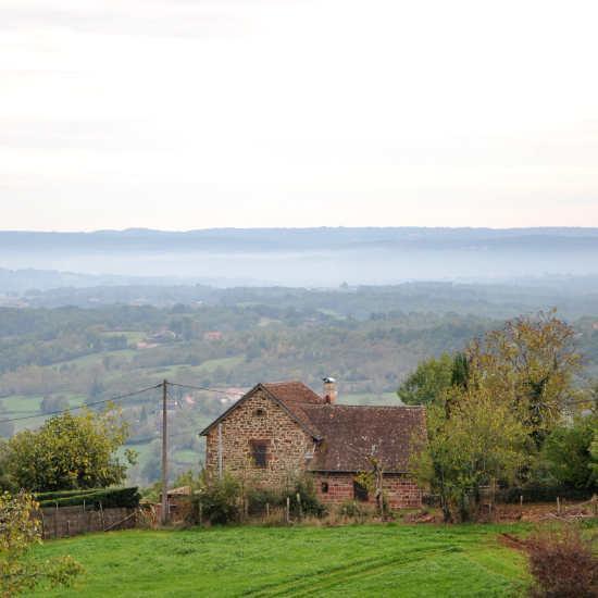 Paysage de Corrèze